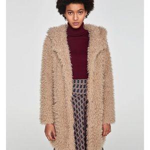 ZARA teddy bear 🧸 coat